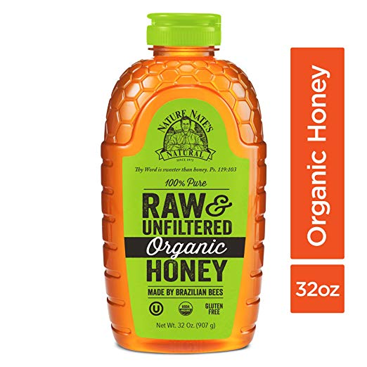 Benefits of Honey / Nature Nate's 100% Pure Raw & Unfiltered Organic Honey